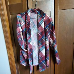 Sweaters - Cute plaid cardigan